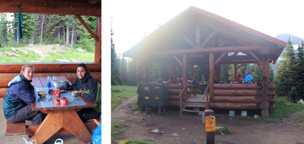 Hütte am Lake Magog Campground